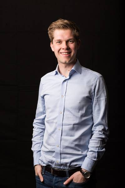 Nicolas Bartholomeeusen (30) directeur AB Inbev Nederland