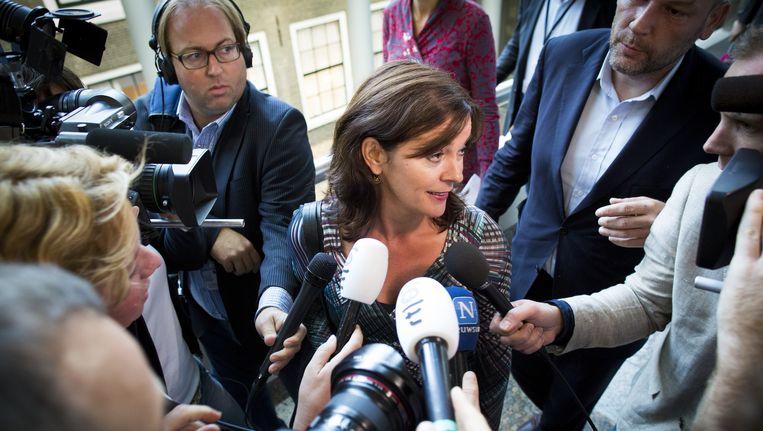 GroenLinks-leider Jolande Sap Beeld null