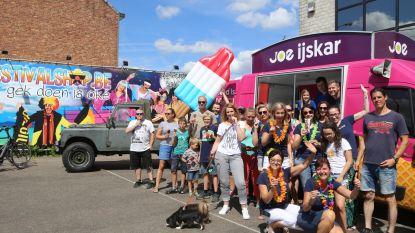 Festivalshop viert middag verlof met ijsjes van 'Out of Office'