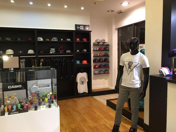 Shaza, de winkel van Nacer Chadli.