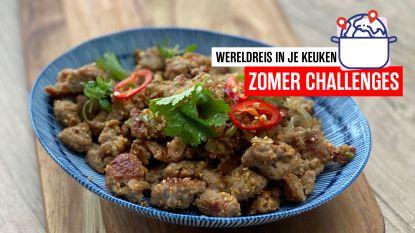 Op wereldreis in je keuken: Thaise lauwe gehaktsalade