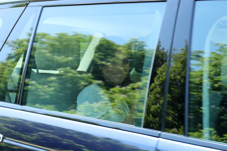 Meghan Markle (36) en Harry komen aan in Windsor