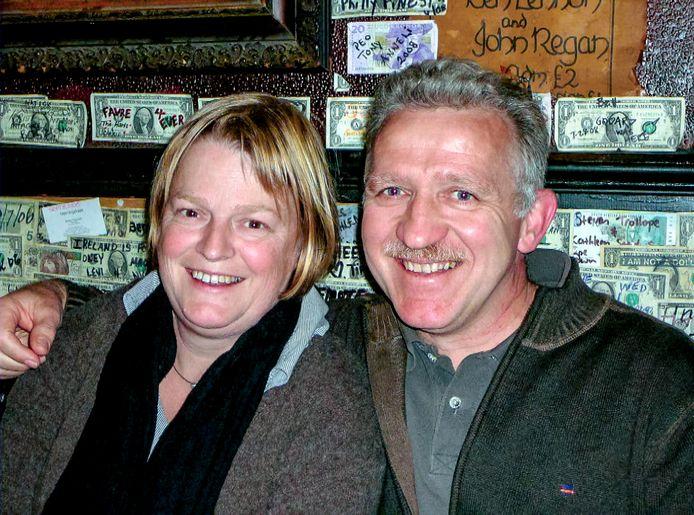 Mieke Verlinden en haar man Michel