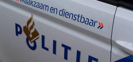 Botsing tussen politie en automobilist, bestuurder gewond