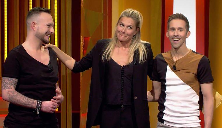 Brandel, Nathalie Meskens en Xavier