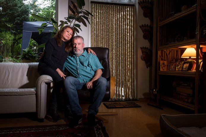 Cecilia en Richard, de ouders van Robert Dönnges.