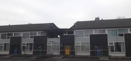 Drie woningen Sibelliusstraat Tilburg onbewoonbaar na brand
