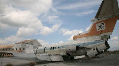 FOTOREEKS. Nicosia International Airport, het vliegveld dat al 44 jaar een pijnlijk symbool is van het verdeelde Cyprus