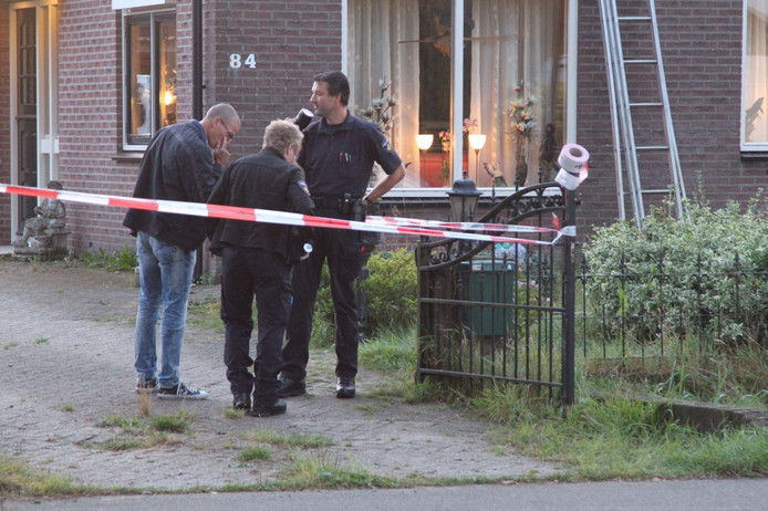 Woningoverval aan Lunterseweg in Ede.
