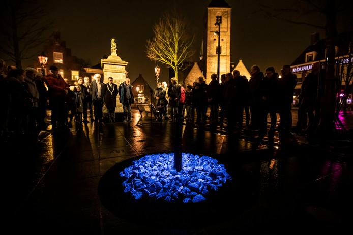 Het levenslicht-monument in Naaldwijk. Foto ter illustratie.