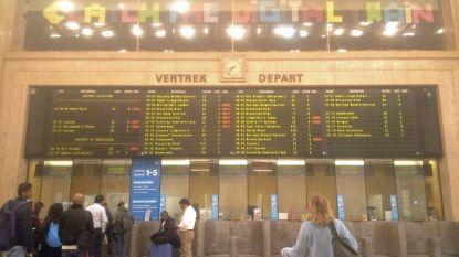 Persoon overleeft aanrijding door trein in Brussel-Centraal