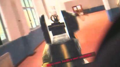 In de huid van een schoolschutter: schietspel zorgt voor controverse in VS