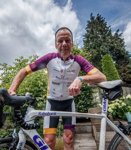 Peter Kuijlaars fietst in 24 uur 515 kilometer voor de strijd tegen kanker