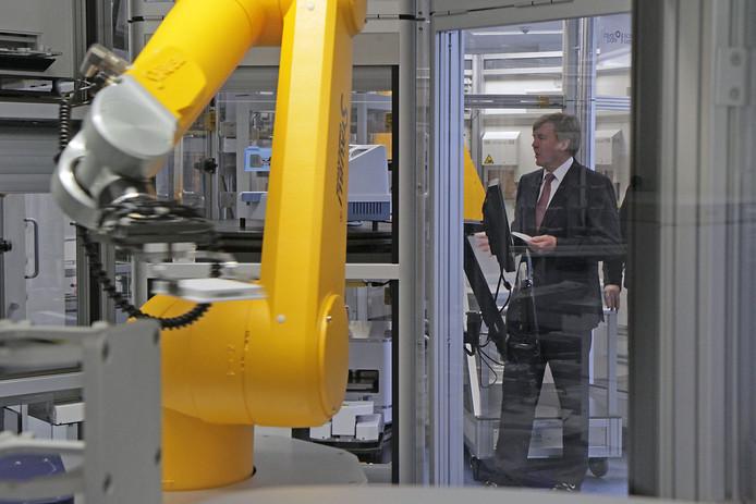 Koning Willem-Alexander was ook al eens welkom op het Pivot Park. Dat was bij de opening, inmiddels ruim vijf jaar geleden.