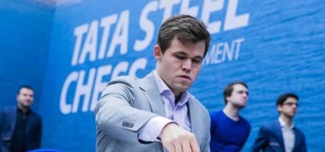 Carlsen en Anand aan kop in Wijk aan Zee