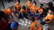 Recordaantal deelnemers tijdens taalkamp Babbelkousje