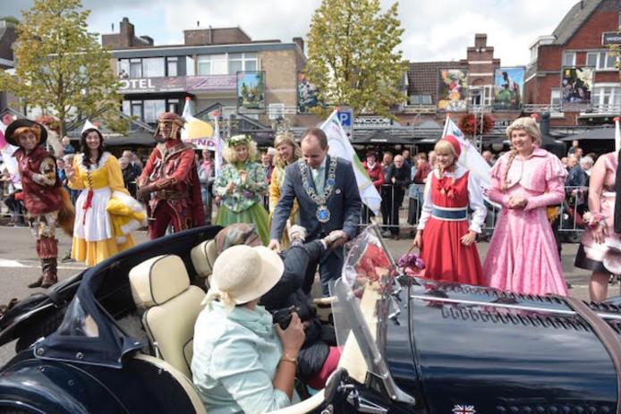 Opening Bloemencorso in Valkenswaard.