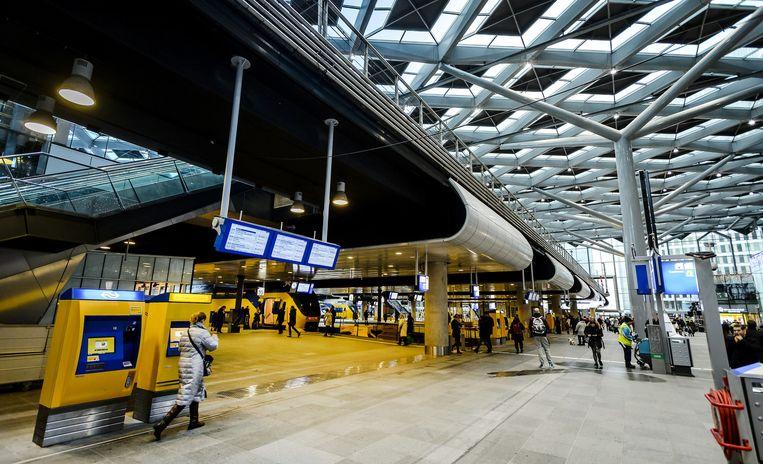 Het vernieuwde station van Den Haag Centraal. Beeld anp