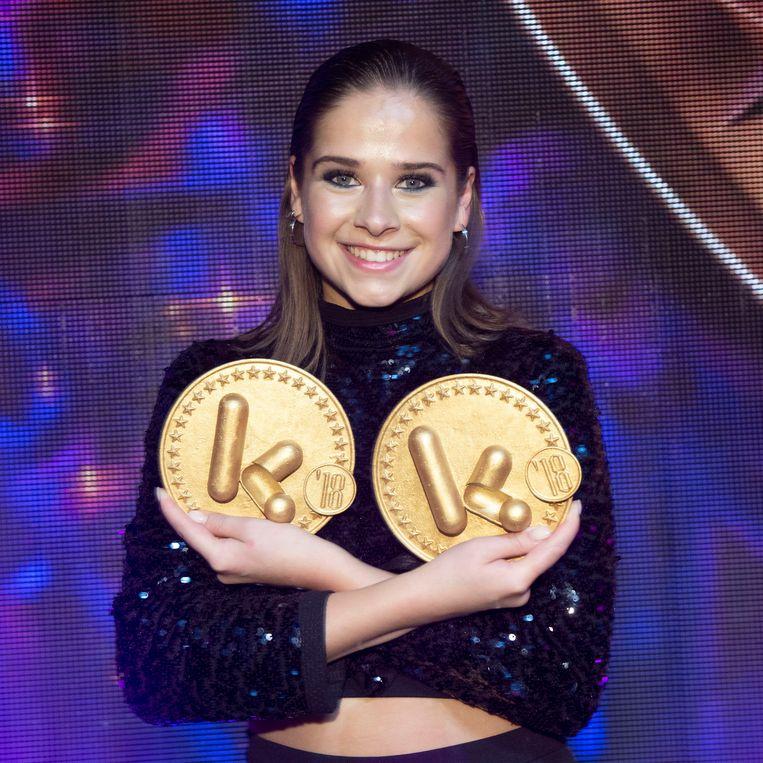 Laura Tessoro viel twee keer in de prijzen.