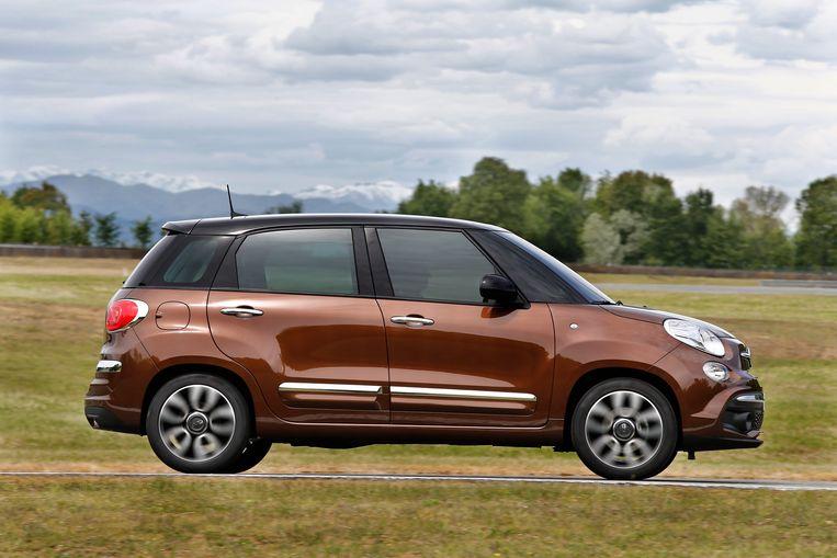 De 2017-uitvoering van de Fiat 500L Beeld rv