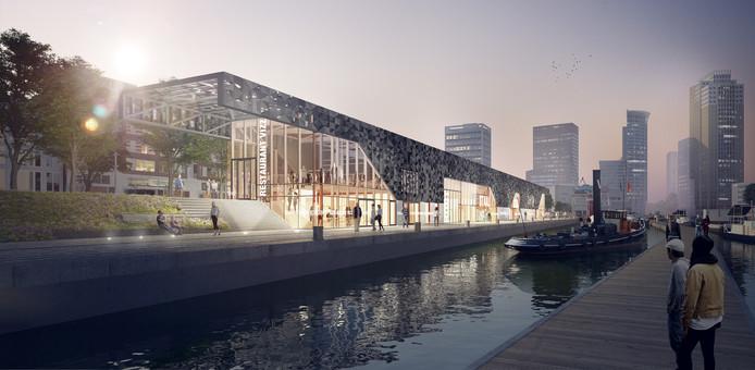 Architectenbureau Moederscheim Moonen heeft naar aanleiding van opmerkingen van de welstandscommissie in zijn ontwerp aanpassingen moeten doen aan de gevel en het dak.