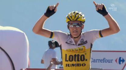 Gesink wint in Vuelta na knappe strijd, sterke Bakelants moet rol in finale lossen