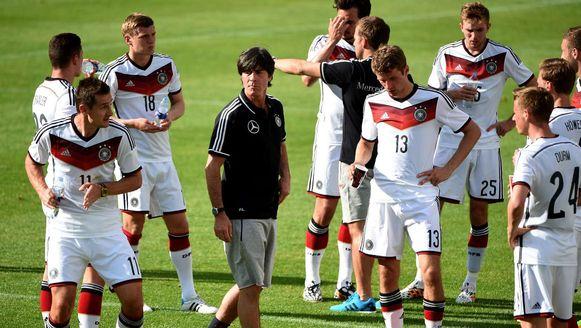 De Duitse selectie