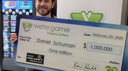 Gelukzak neemt eenmalig deel aan lotto en wint 1 miljoen dollar