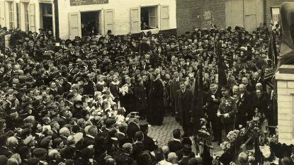 Jong en oud herdenkt einde van Eerste Wereldoorlog in Sint-Pieters-Leeuw