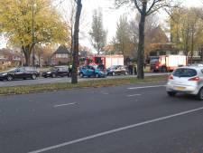 Gewonde bij aanrijding in centrum van Apeldoorn