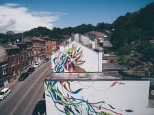 Une nouvelle fresque monumentale vient de voir le jour dans les rues de Liège