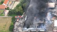 Luchtbeelden tonen enorme ravage van verwoestende brand