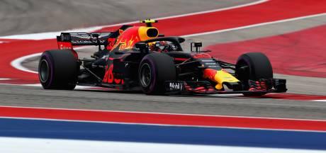 Vijfde tijd voor Verstappen, Vettel snelste in droog Austin