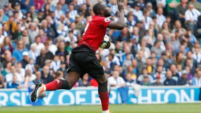 Eerste goal Lukaku levert United niets op