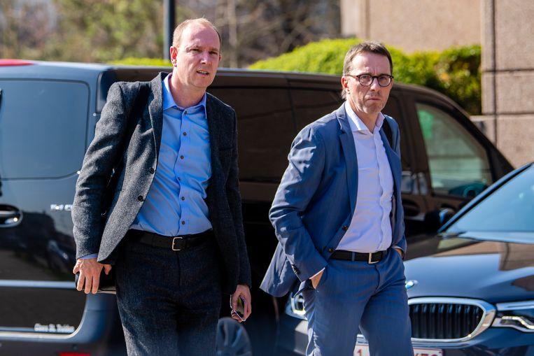 Malinwa-hoofdaandeelhouder Olivier Somers (links).
