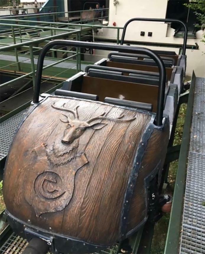 Le bobsleigh mis en vente par le parc d'attractions néerlandais Efteling