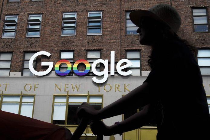 Google-hoofdkantoor in New York.