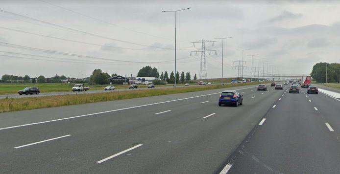 De A2 bij Breukelen.