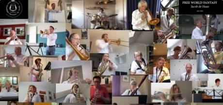 Jubileumjaar harmonie Schijndel gaat in stilte voorbij, sinds de oorlog werd niet zo weinig opgetreden