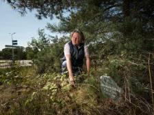 Bermmonument voor verongelukte Herman uit Hengelo komt na 20 jaar eindelijk op de juiste plek
