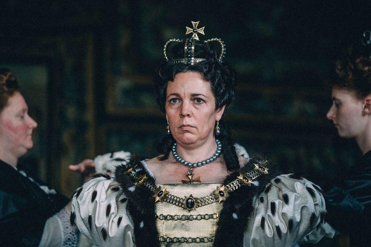 Olivia Colman als Queen Anne in 'The Favourite'.