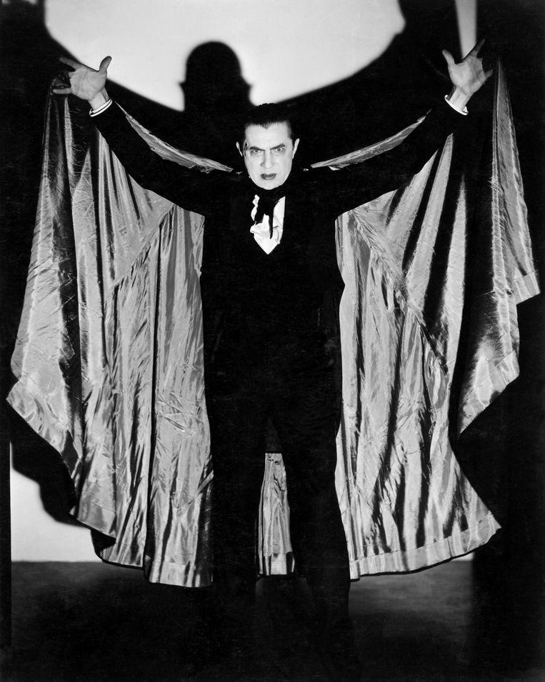 De angstaanjagende vampier uit de detective van Thom Browning.  Beeld Bettmann Archive