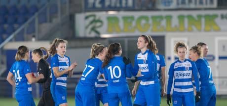 PEC Zwolle Vrouwen incasseert Friese dreun in strijd om plek drie: 3-0