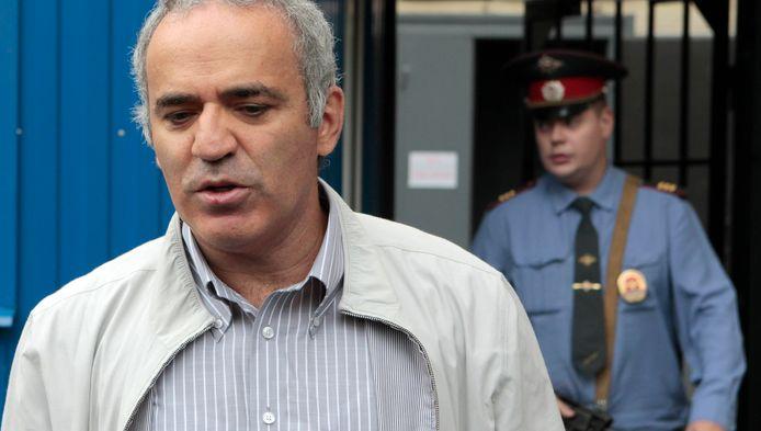 Schaaklegende Garry Kasparov.
