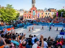 De mooiste plaatjes van het EK beachvolleybal in Nederland