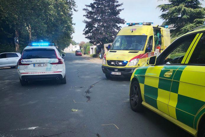 De politie, een ziekenwagen en een MUG-team kwamen ter plaatse.
