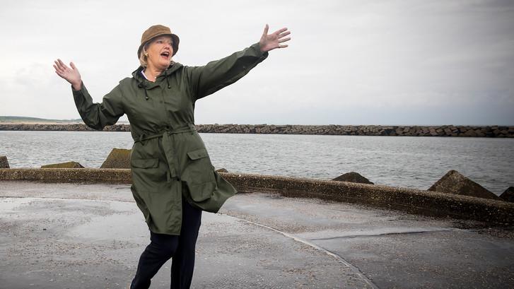 Vissen met Eerste Kamer-voorzitter: Singing in de rain
