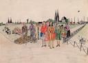 Beeld uit expositie Oorlog door kinderogen.
