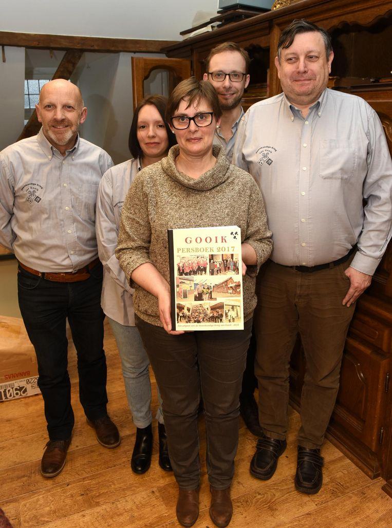 De ploeg achter het Persboek 2017.