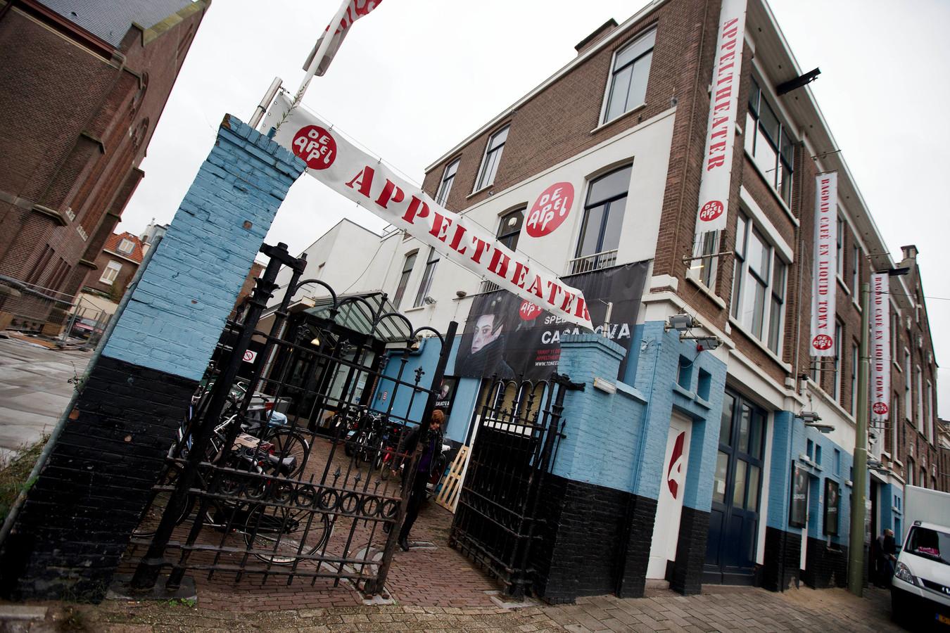 Het voormalige theater van toneelgroep De Appel, die later naar de Appelloods verkaste.